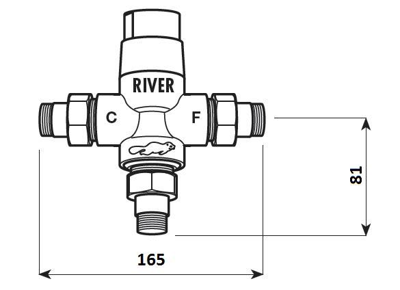 mieszacze termostatyczne R 00312